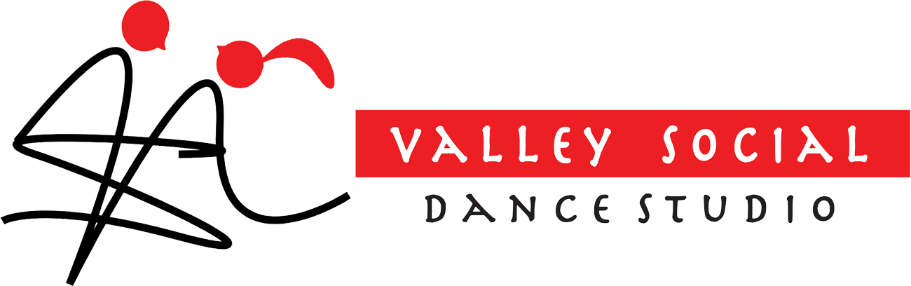 valley social dance studio logo